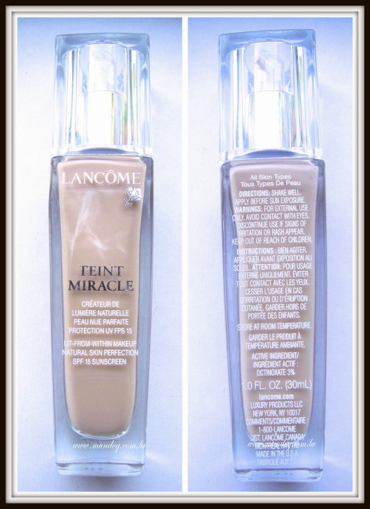 Lancome Teint Miracle1